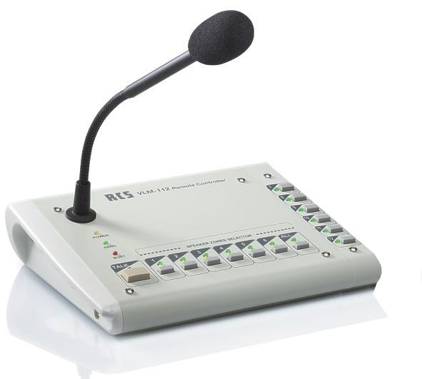 VLM112 Mikrofon Sprechstelle VLM112 für 12Zonen ohne Textruf