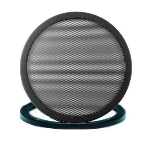 21cm Lautsprecherabdeckung 214mm 2-teilig Feingitter Gitter für Lautsprecher
