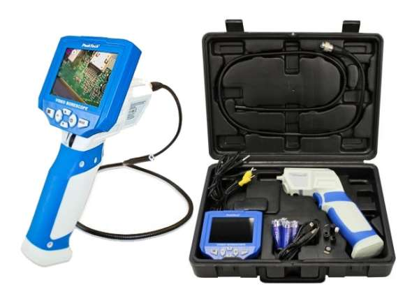 Inspektionskamera Endoskop Kamera P5600 mit Monitor
