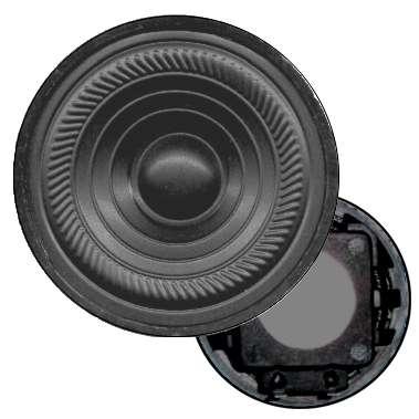 50mm Lautsprecher 50ohm 1W zu Sprechanlagen ersetzt 45ohm Typen