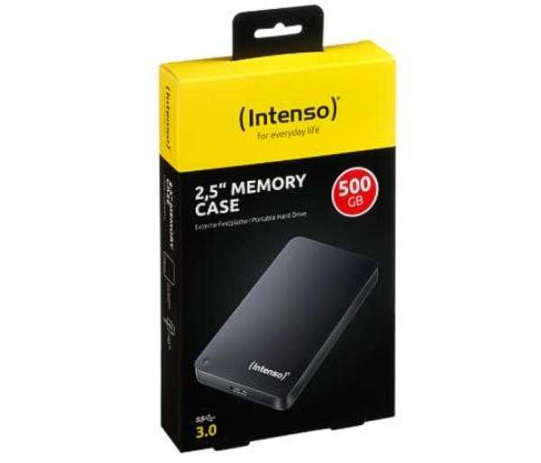500GB USB Festplatte USB2 USB3 Intenso