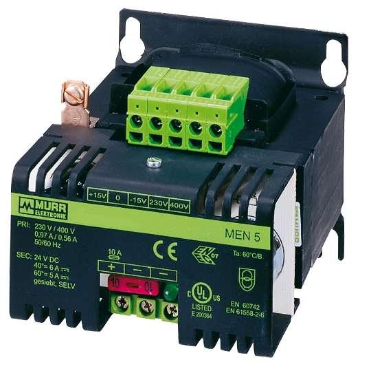 24V Trafo 400V 24VDC Netzteil 180-216W 230V 400V 24W 7,5A