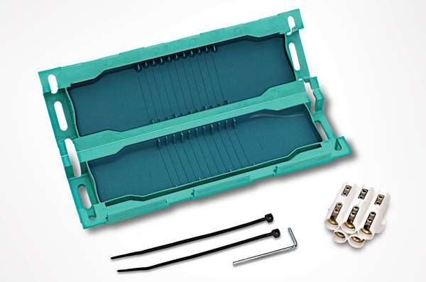 Kabelmuffe Wasserdicht Gel-Kabelgarnitur 180x72x40mm Gelmuffe