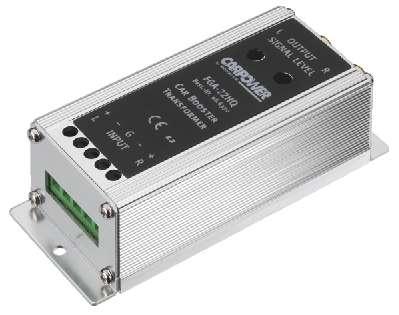 Audiowandler Lautsprechersignal auf Cinchsignal Masse Entkoppler Massetrenner