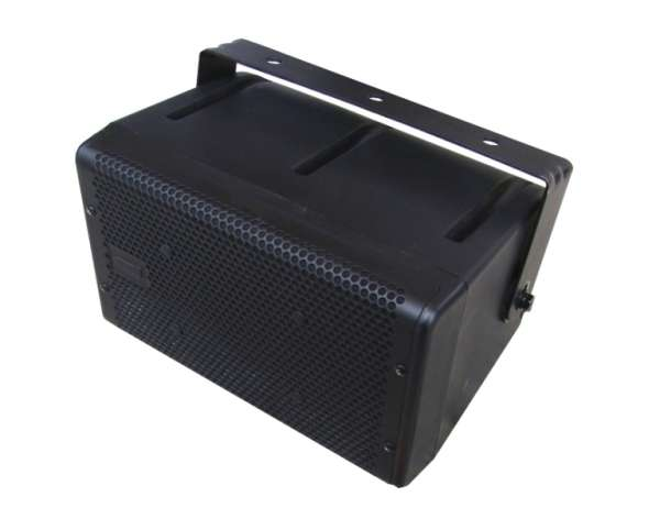 Lautsprecherbox Outdoor 200W 8ohm und 100V IP54 104HTH Schwarz