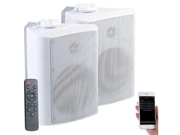 WLAN Lautsprecher 120Watt mit WIFI und Bluetooth IP55 Outdoor 230VAC