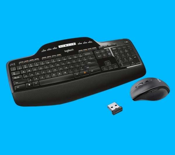 Funktastatur mit Funkmaus Wireless Desktop MK710 mit USB Empfänger