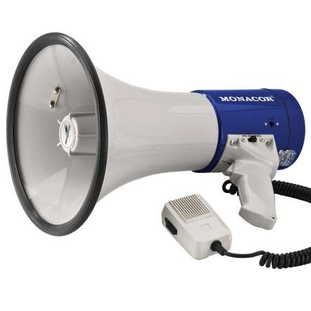 Megafon TM17 25W Megaphon mit integrierter Sirene