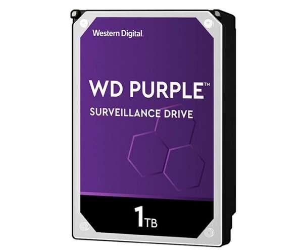 1TB Festplatte SATA-3 für HD AHD TVI SDI CVI DVR Recorder WD Purple