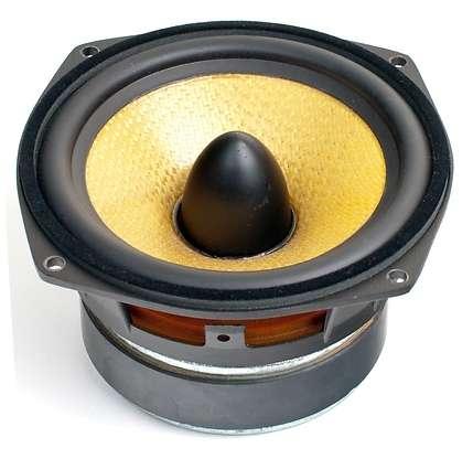 133mm Mitteltöner Bassmitteltöner 80W 8Ohm SPH135KEP