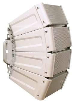 Kompaktarray 4er für den Innen-/Außeneinsatz 600W 8Ohm HX5WWP