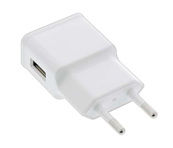 USB Netzteil USB Ladegerät 5V 1,2A Weiss