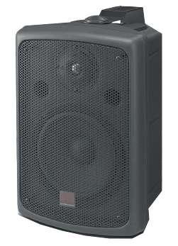 Lautsprecherbox 120W ELA 100V Indoor Outdoor Profi Schwarz