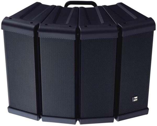 Kompaktarray 4er für den Innen-/Außeneinsatz 600W 8Ohm HX5BWP