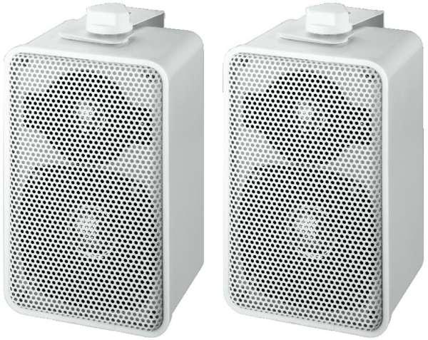 MKS42/WS Lautsprecherboxen 100W mit Halter Weiss