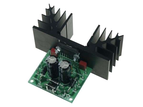 60W Verstärker Fertigmodul 2x30 Watt Stereo Verstärker