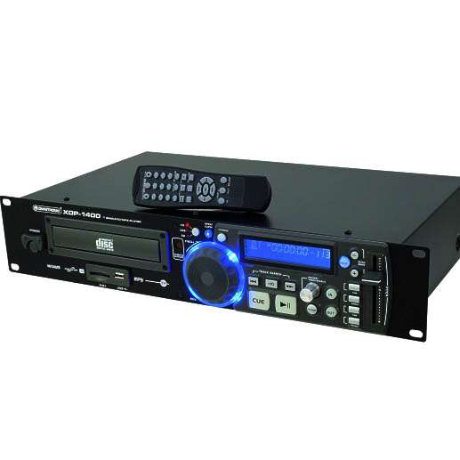 CD MP3 USB Player XDP-1400 Rackeinbau mit Fernbedienung