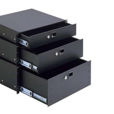 483mm Schublade mit 4HE Tiefe 392mm ( 19zoll ) Rackschublade
