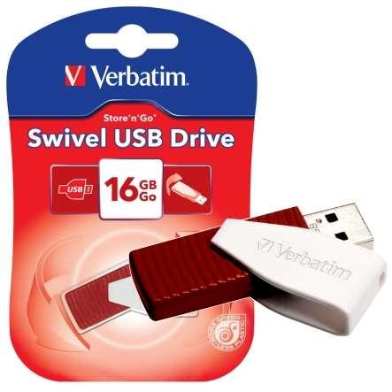16GB USB Speicher USB2 Store-nGo Swivel