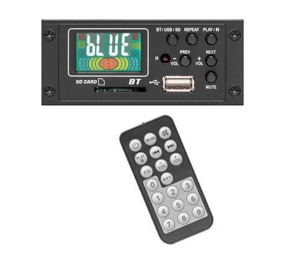 Mischpult Zubehör Bluetooth Audio Empfänger UB100A 12V Einbau mit FB