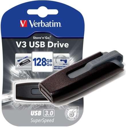 128GB USB Speicher USB3 Verbatim V3