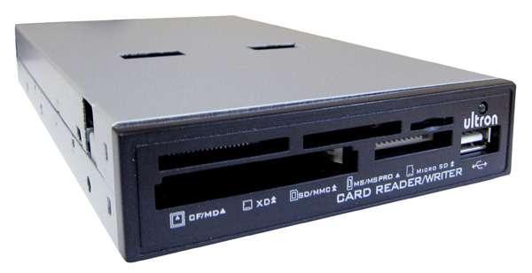 """CardReader Kartenleser intern 3,5"""" UCR 75-in-1 mit USB Anschluss"""