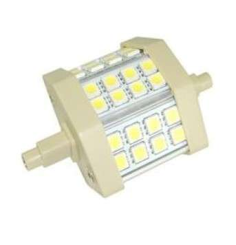 LED Lampe 230V R7s 78mm 5W dimmbar Kaltweiss Halogenstab Ersatz Stabsockel