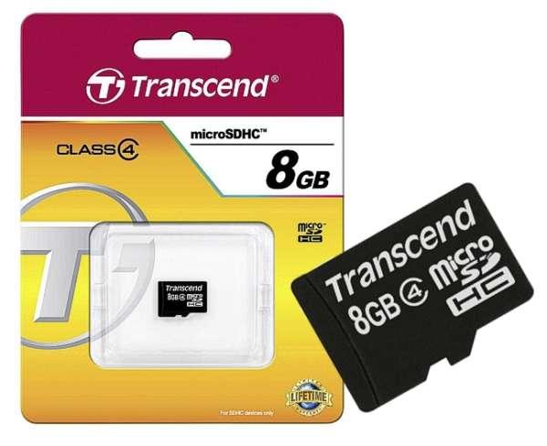 8GB SD Karte Micro SDHC Speicherkarte Class4
