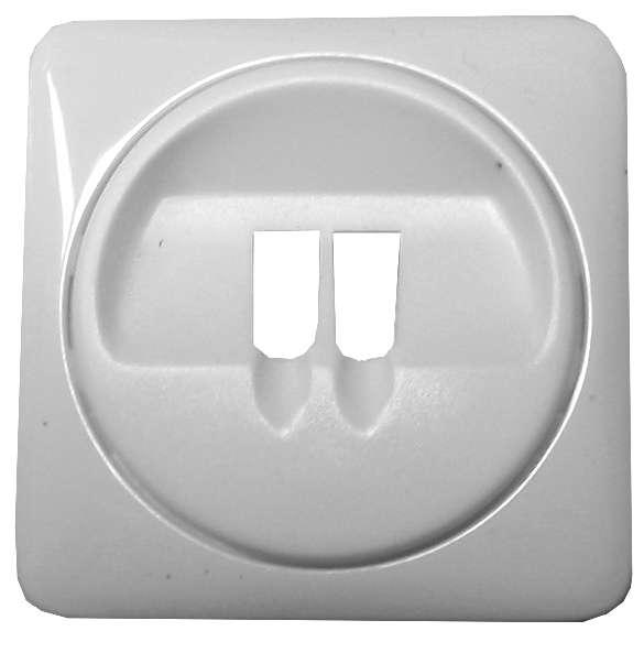 Innenblende zur Mono Lautsprecherdose 2-teilig