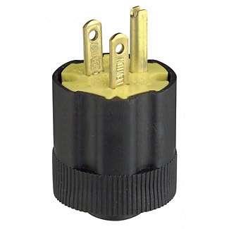 USA Netzstecker NEMA 5-15 US Stecker 3pol 125V 15A mit Schutzleiter