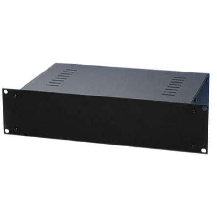 Leergehäuse 3HE 482mm ( 19zoll Gehäuse ) 482x250x133mm Schwarz
