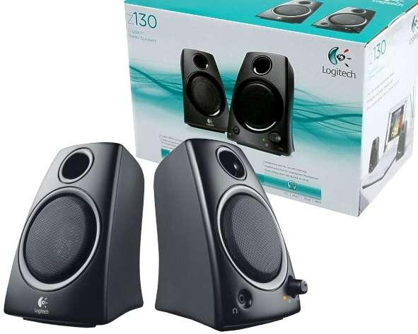 PC Lautsprecher 2-wege Stereo System Z130 Paar