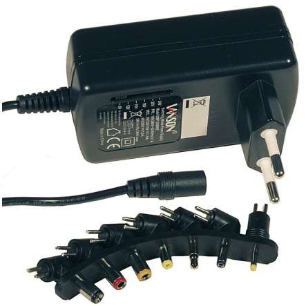 Netzteil 24W einstellbar 9V 12V 15V 18V 20V 24V 1,5A