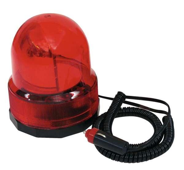 Alarmlicht 12V Drehlicht mit Magnet Rot Polizeilicht