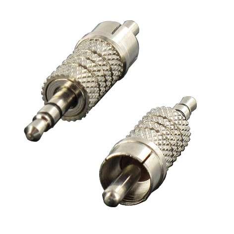 Adapter Klinke 3,5mm Stereo-Stecker auf 1xCinchstecker
