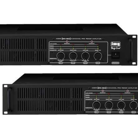 4Kanal Verstärker 1400W 4x250W RMS 4-8Ohm Niederohm Multiroom