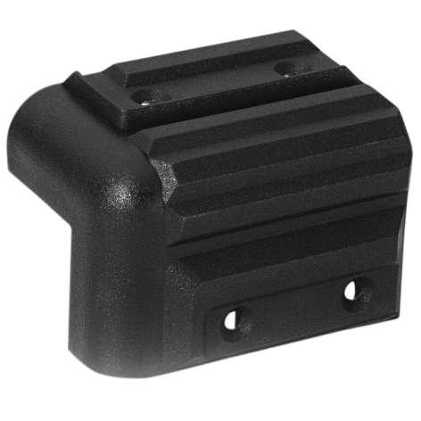 Schutzecke Kunststoff Schwarz Stapelbar 57x41x41mm