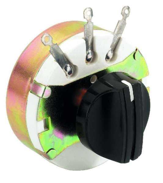 Lautsprecherregler Mono 1x 100/250W Gewinde 11mm Pegelsteller Lautstärkeregler