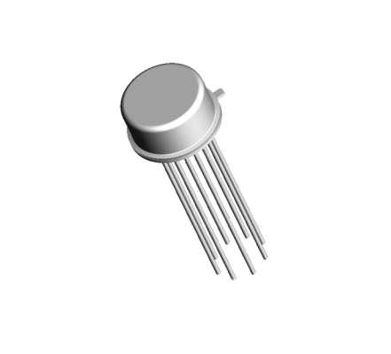 CA3018 TO99 12polig 4-fach NPN Transistor Array