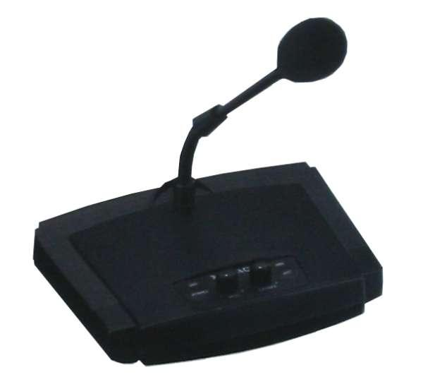 Tischmikrofon mit integrierter Gongfunktion Gong Mikro