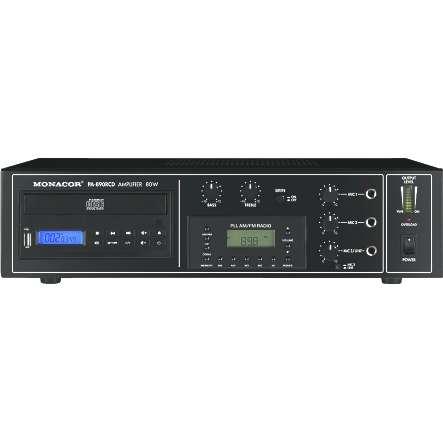 ELA Zentrale Verstärker CD Player Tuner PA890RCD