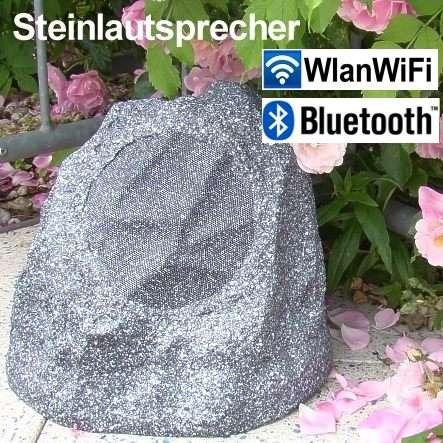 Steinlautsprecher WLAN WiFi Bluetooth Gartenlautsprecher 220VAC Version