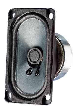 90x50mm Breitbandlautsprecher 15W 8Ohm SC5,9