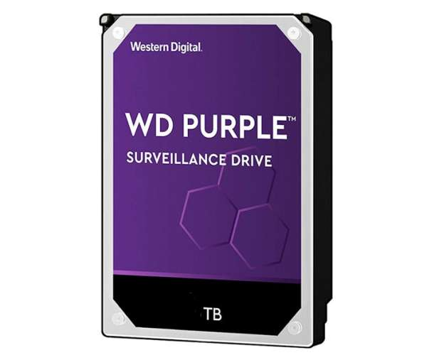 4TB Festplatte SATA-3 für HD AHD TVI CVI SDI Recorder Purple Windows