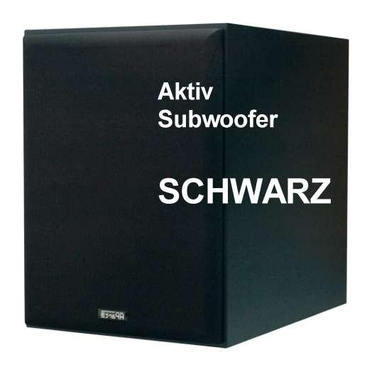 Aktiv Subwoofer 170 Watt APART SUBA165 Schwarz
