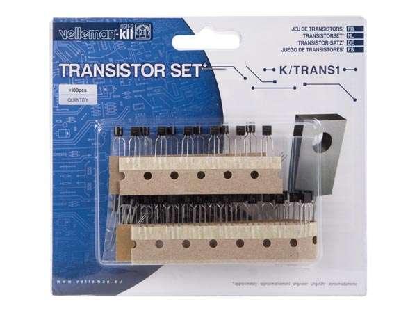 Transistor Sortiment 100-teilig BC-BD Typen