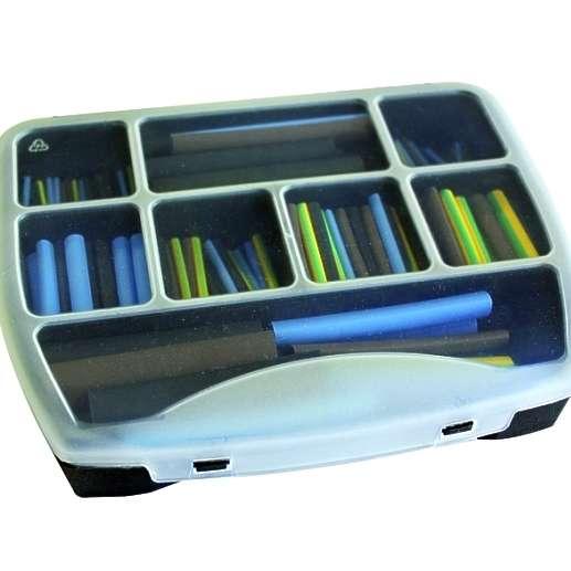 Schrumpfschlauch Sortiment 280tlg Kunststoffbox ELEKTRO