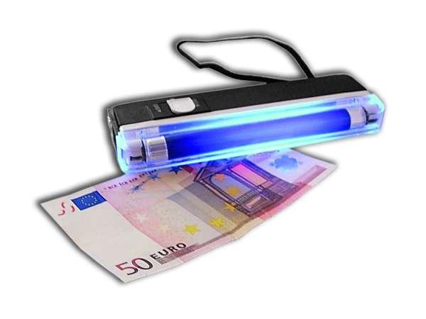 UV Geldscheinprüfer Mobil Batteriebetrieben