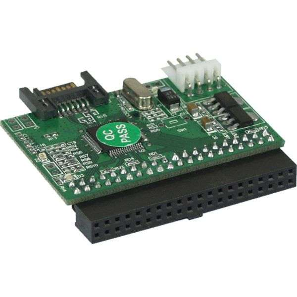 Adapter PATA für IDE Festplatte am SATA Kontroller anschliessen