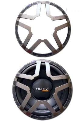 Lautsprecherabdeckung 263mm für 250mm Subwoofer